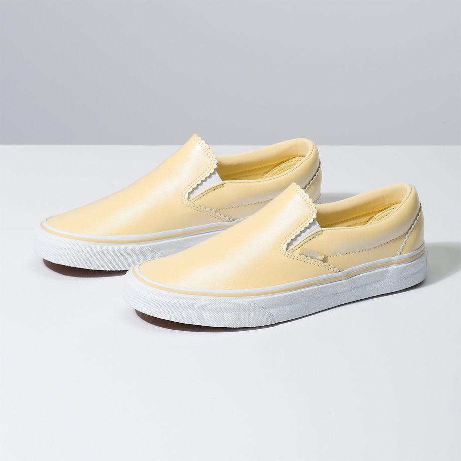 bcab633cd663 Vans Pearl Suede Slip-On Zlate Biele - Lacne Vans Slip-On Tenisky ...