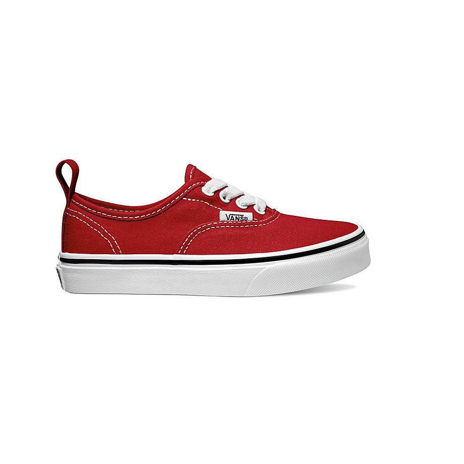 59a2e895e9026 Dievcenske Tenisky Vans Authentic Elastic Lace Červené/Biele   AFM-440