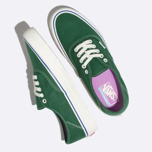 Panske Tenisky Vans Salt Wash Authentic SF Zelene | EWJ-556